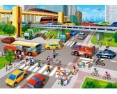 Puzzle Rušné město - DĚTSKÉ PUZZLE