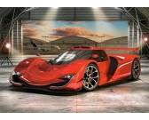 Puzzle Sportovní auto v garáži - DĚTSKÉ PUZZLE