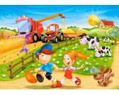 Puzzle Léto na venkově - DĚTSKÉ PUZZLE