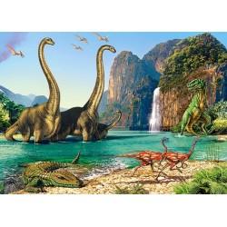 Puzzle Dinosauří svět - DĚTSKÉ PUZZLE