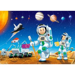 Puzzle Na jiné planetě - DĚTSKÉ PUZZLE