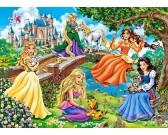 Puzzle Princezny v zahradě - DĚTSKÉ PUZZLE
