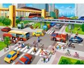 Puzzle Rušná ulice - DĚTSKÉ PUZZLE
