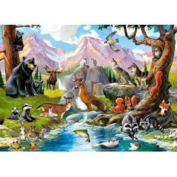 Puzzle Zvířátka lesa - DĚTSKÉ PUZZLE