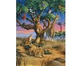 Puzzle Africká divočina