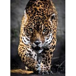 Puzzle Kráčející jaguár