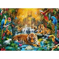 Puzzle Mystičtí tygři