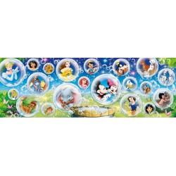Puzzle Svět Disney - PANORAMATICKÉ PUZZLE