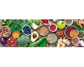 Puzzle Zdravá strava - PANORAMATICKÉ PUZZLE