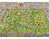 Puzzle Fotbalový zápas