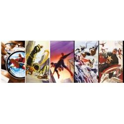 Puzzle Hrdinové Marvel - PANORAMATICKÉ PUZZLE