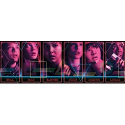 Puzzle Stranger things - PANORAMATICKÉ PUZZLE