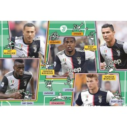 Puzzle Juventus Turín - MAXI PUZZLE