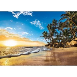 Puzzle Tropický východ slunce