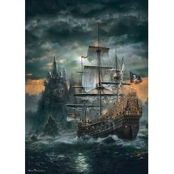 Puzzle Pirátská plachetnice