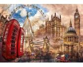 Puzzle Památky Londýna