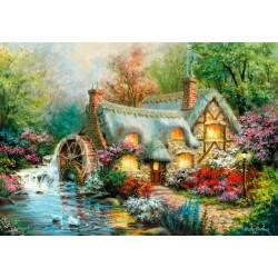 Puzzle Vodní mlýn