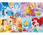 Puzzle Čtyři princezny - DĚTSKÉ PUZZLE
