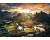 Puzzle Čínská krajina