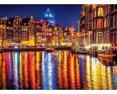 Puzzle Světla Amsterdamu