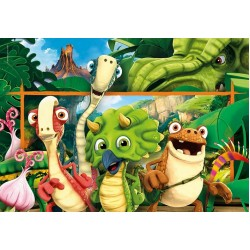 Puzzle Veselí dinosauři - DĚTSKÉ PUZZLE