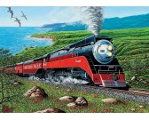 Puzzle Vlak Southern Pacific