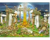 Puzzle Stavba Stonehenge