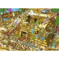 Puzzle Stavba Pyramidy