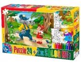 Puzzle Červená Karkulka - DĚTSKÉ PUZZLE