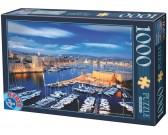 Puzzle Přístav Marseille, Francie