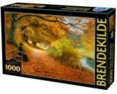 Puzzle Lesní cesta na podzim