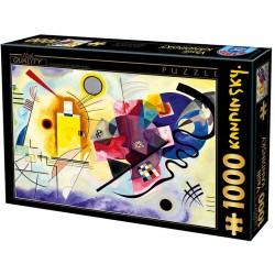 Puzzle Žlutá, červená, modrá