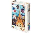 Puzzle Zamilovaná Paříž