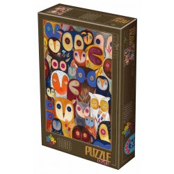 Puzzle Sovy