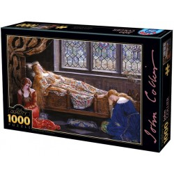 Puzzle Spící krásky