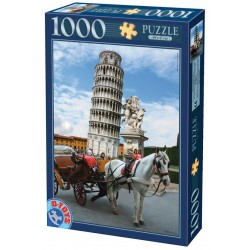 Puzzle Šikmá věž v Pise