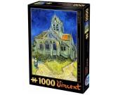Puzzle Kostel v Auvers