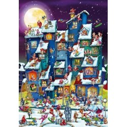 Puzzle Vánoce