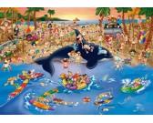 Puzzle Představení na pláži