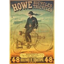 Puzzle Plakát Jízdní kolo