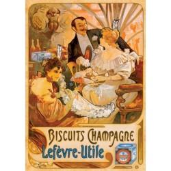 Puzzle Plakát Biscuits Champagne