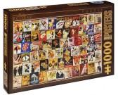 Puzzle Vintage plakáty