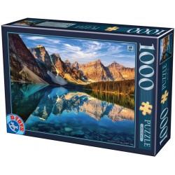 Puzzle Jezero Moraine, Kanada