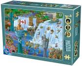 Puzzle Niagarské vodopády