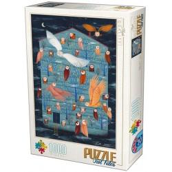 Puzzle Soví ráj
