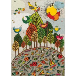 Puzzle Barevná příroda