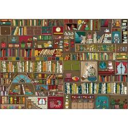 Puzzle Police s knihami