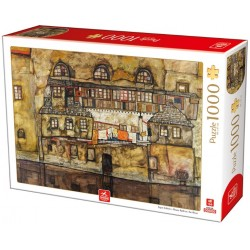 Puzzle Dům u řeky