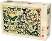 Puzzle Encyklopedie - motýli