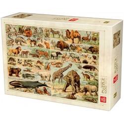 Puzzle Encyklopedie zvířat